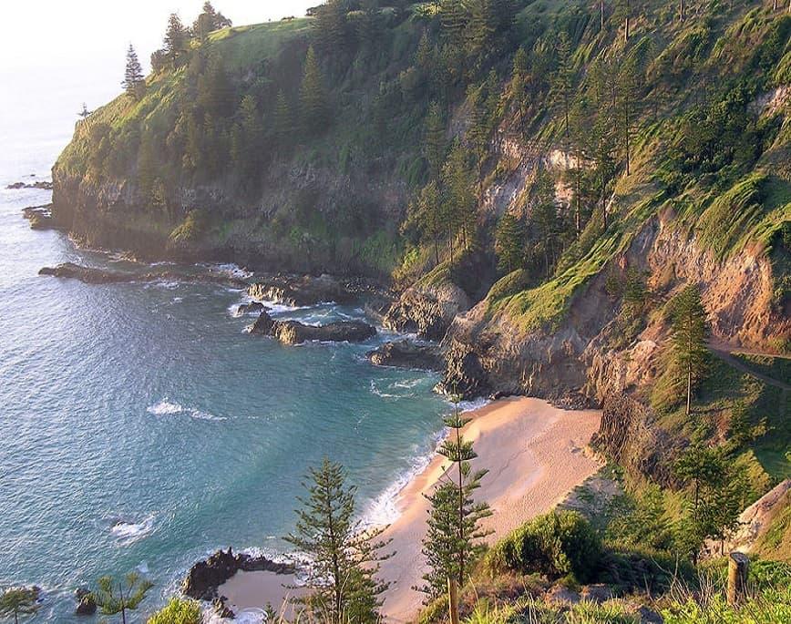Norfolk Island beach